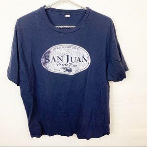 Tultex l San Juan Puerto Rico Mens T-shirt
